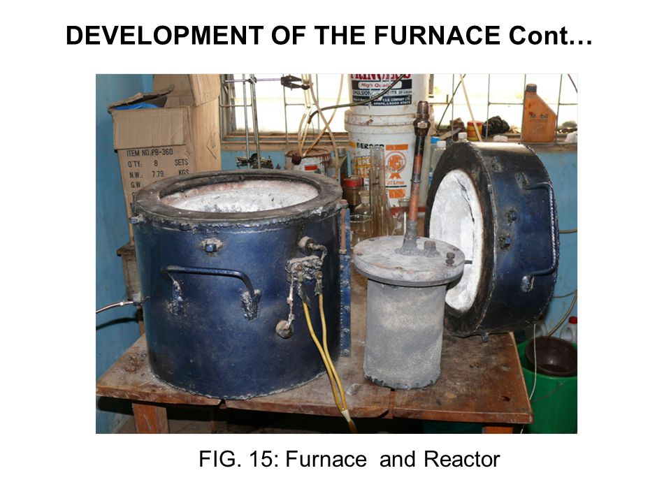 DEVELOPMENT OF THE FURNACE Cont…