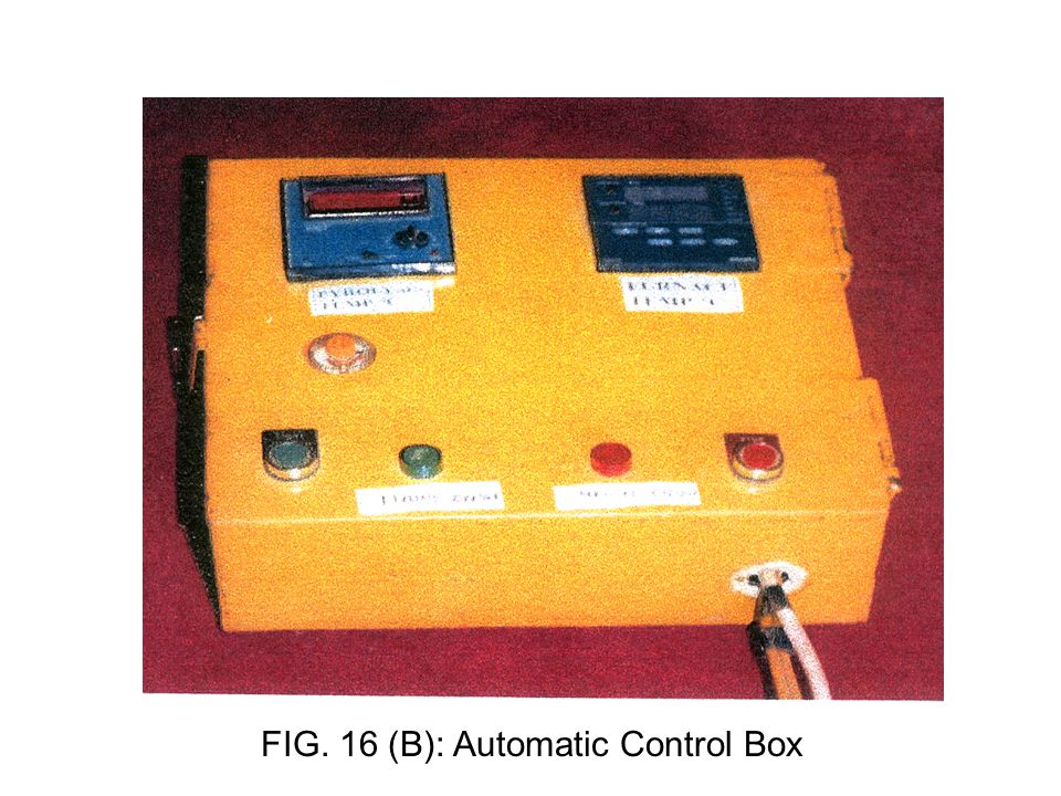 FIG. 16 (B): Automatic Control Box