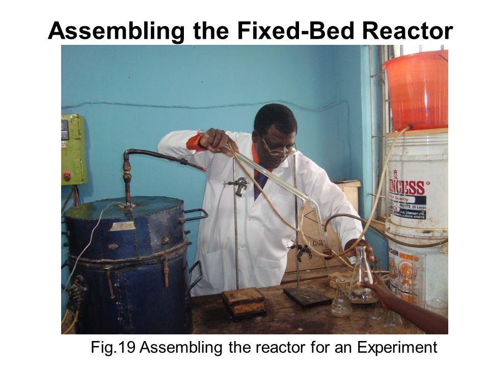 Assembling the Fixed-Bed Reactor