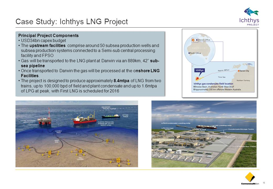 Case Study: Ichthys LNG Project