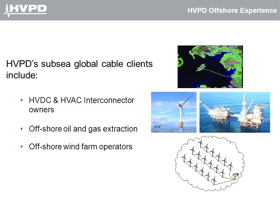 HVPD Offshore Experience