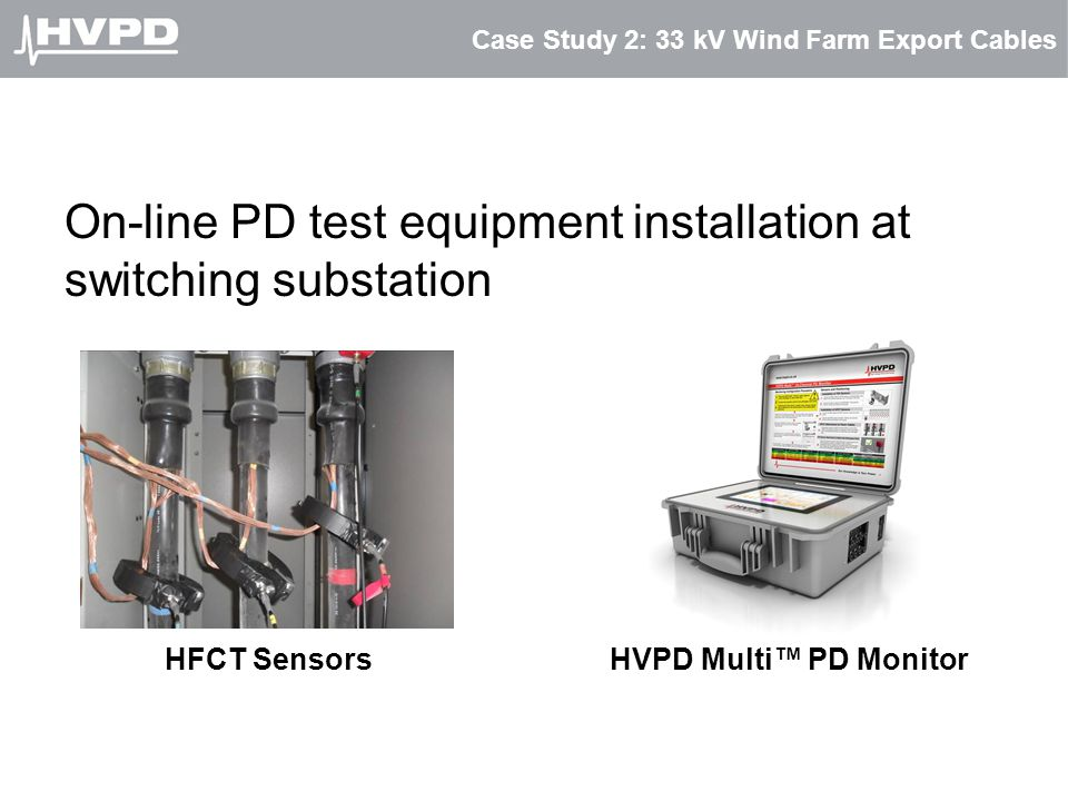 Case Study 2: 33 kV Wind Farm Export Cables