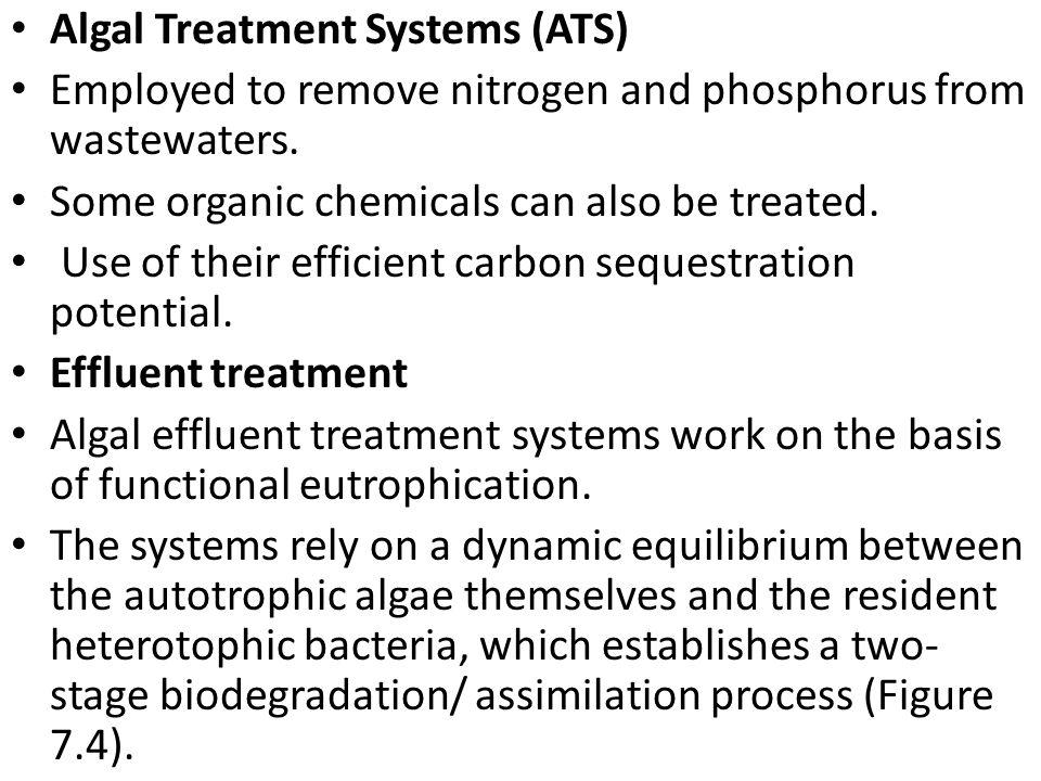 Algal Treatment Systems (ATS)
