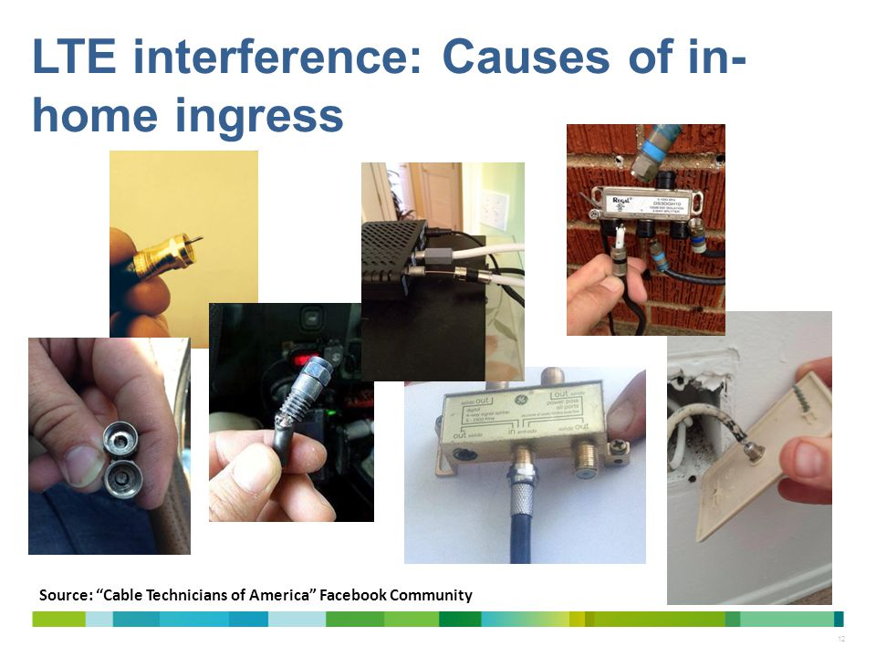 LTE interference: Causes of in-home ingress