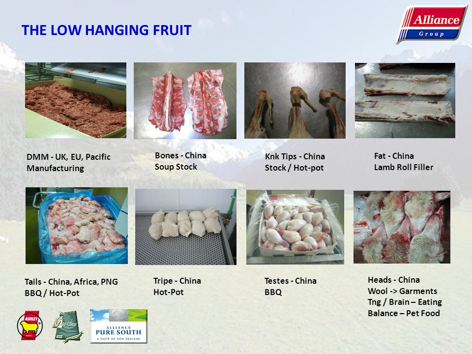 THE LOW HANGING FRUIT DMM - UK, EU, Pacific Manufacturing