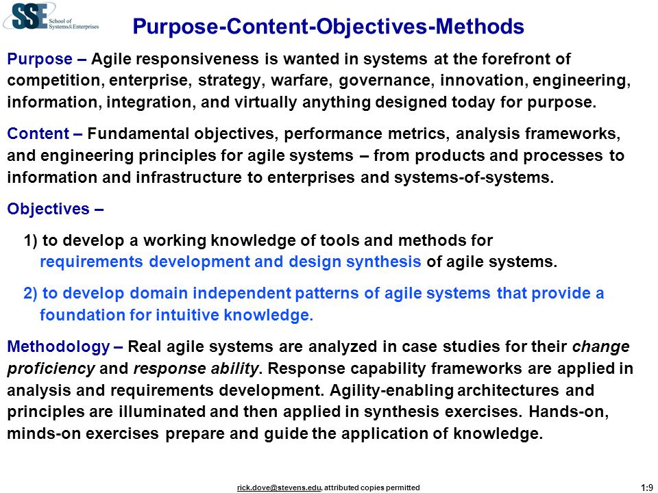 Purpose-Content-Objectives-Methods