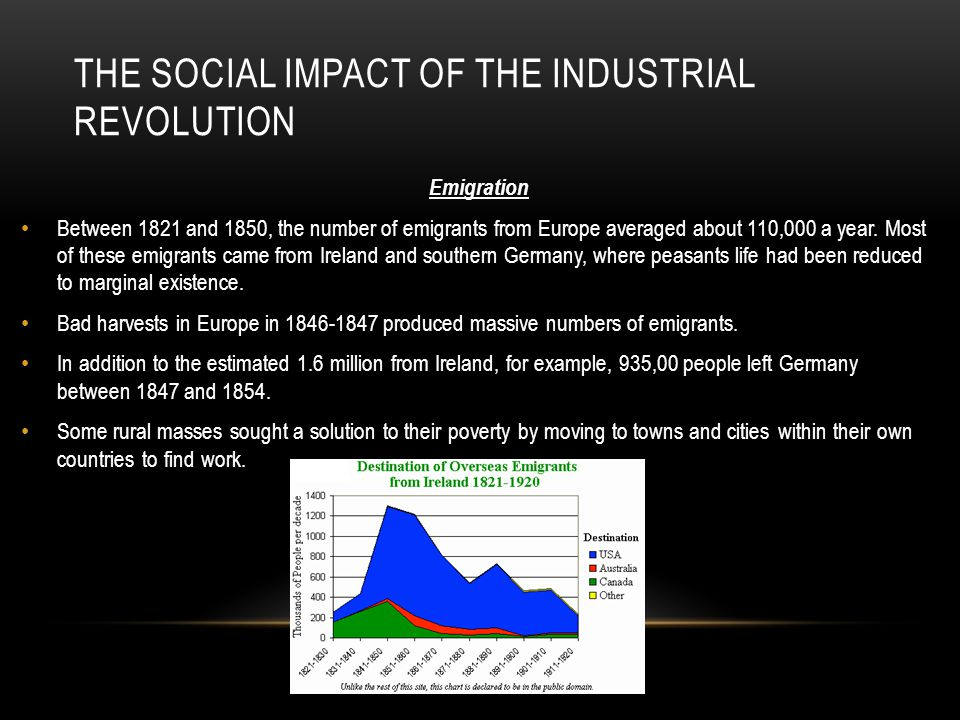 the effects of the industrial revolutions on europe You will learn about the effects of the industrial revolution on living and working   as other countries in europe and north america industrialized, they too.
