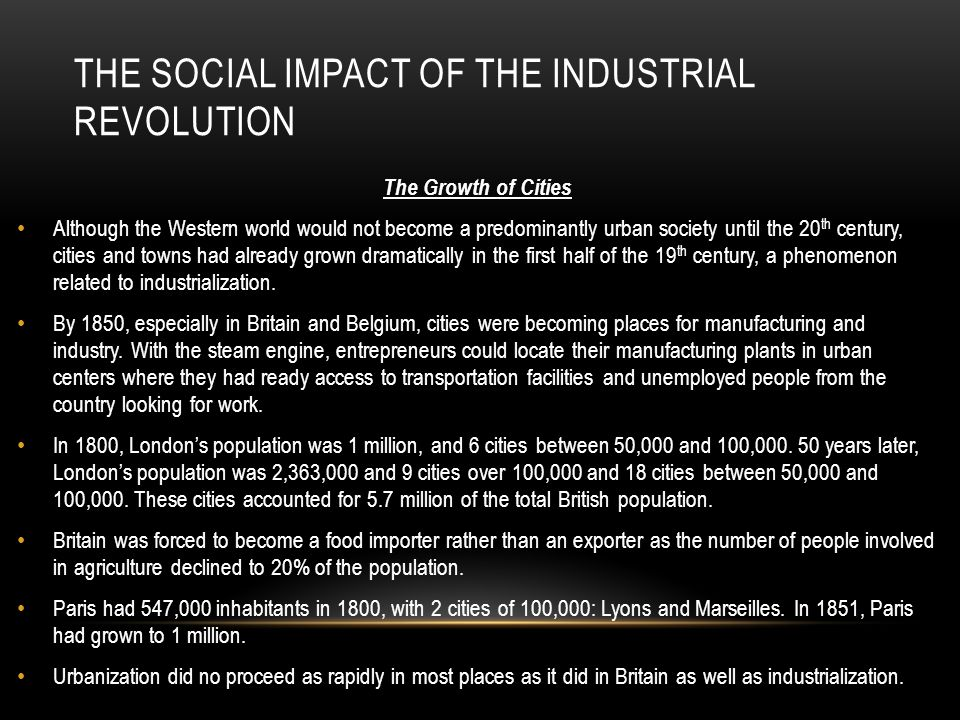 the history and impact of the british industrial revolution The industrial revolution is one of the most celebrated watersheds in human  history  research in wage and price history shows that britain was a high wage  economy in four  the impact of scientific discovery on technology was  explored.