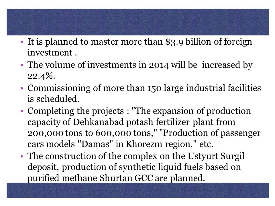It is planned to master more than $3.9 billion of foreign investment .