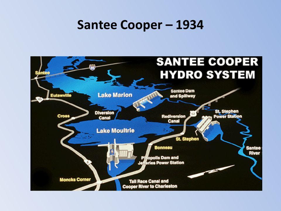 Santee Cooper – 1934