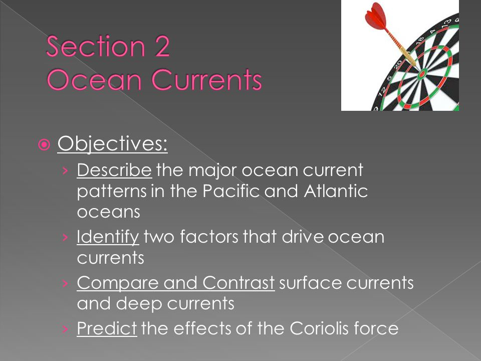 Section 2 Ocean Currents