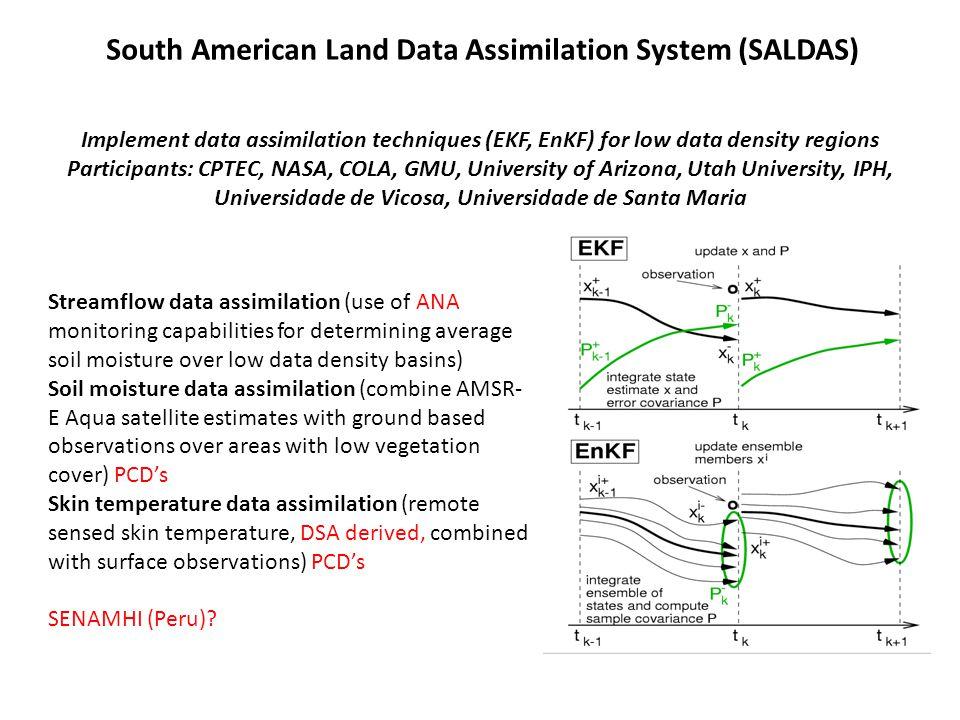 South American Land Data Assimilation System (SALDAS)