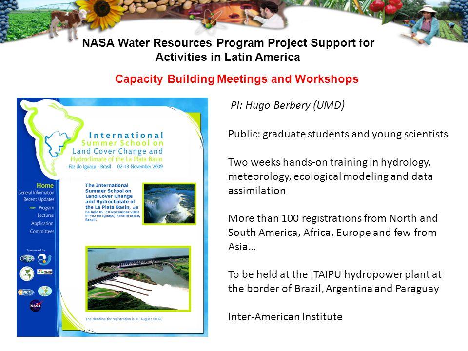 Capacity Building Meetings and Workshops