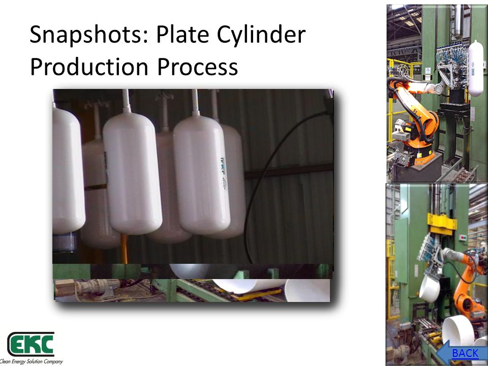 Snapshots: Plate Cylinder Production Process