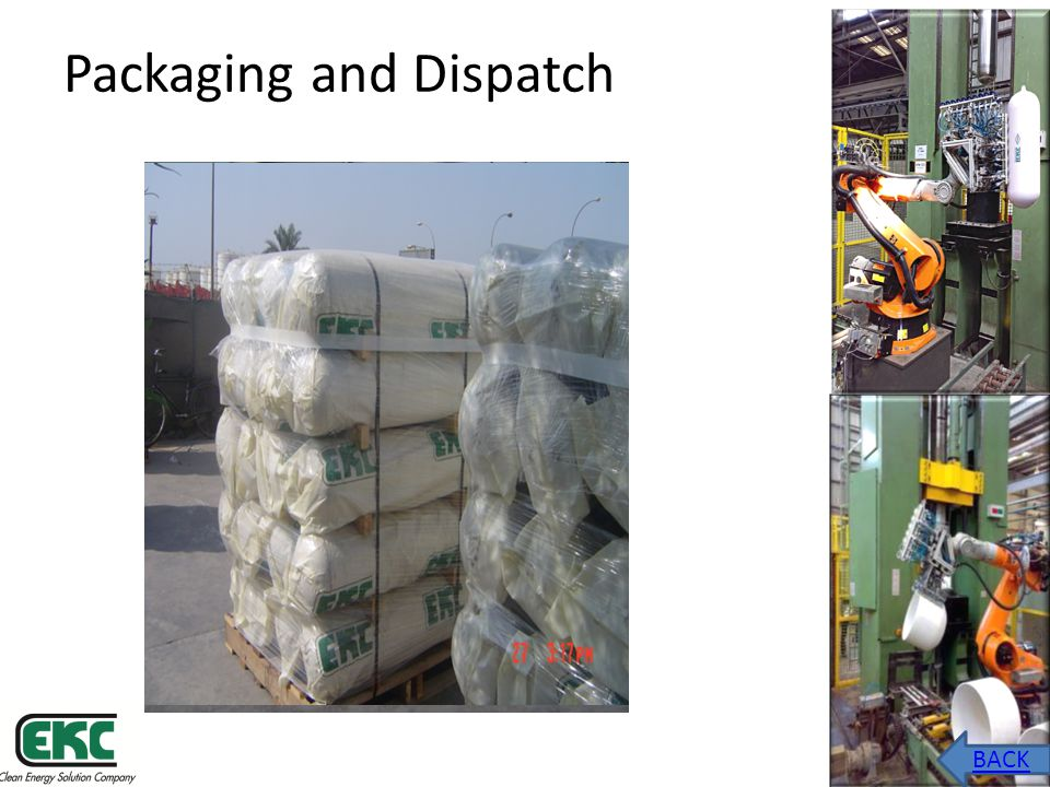 Packaging and Dispatch