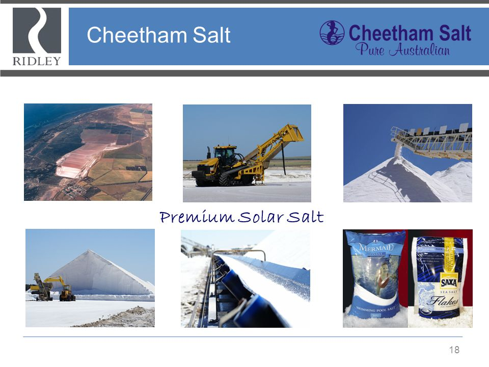 Cheetham Salt Premium Solar Salt