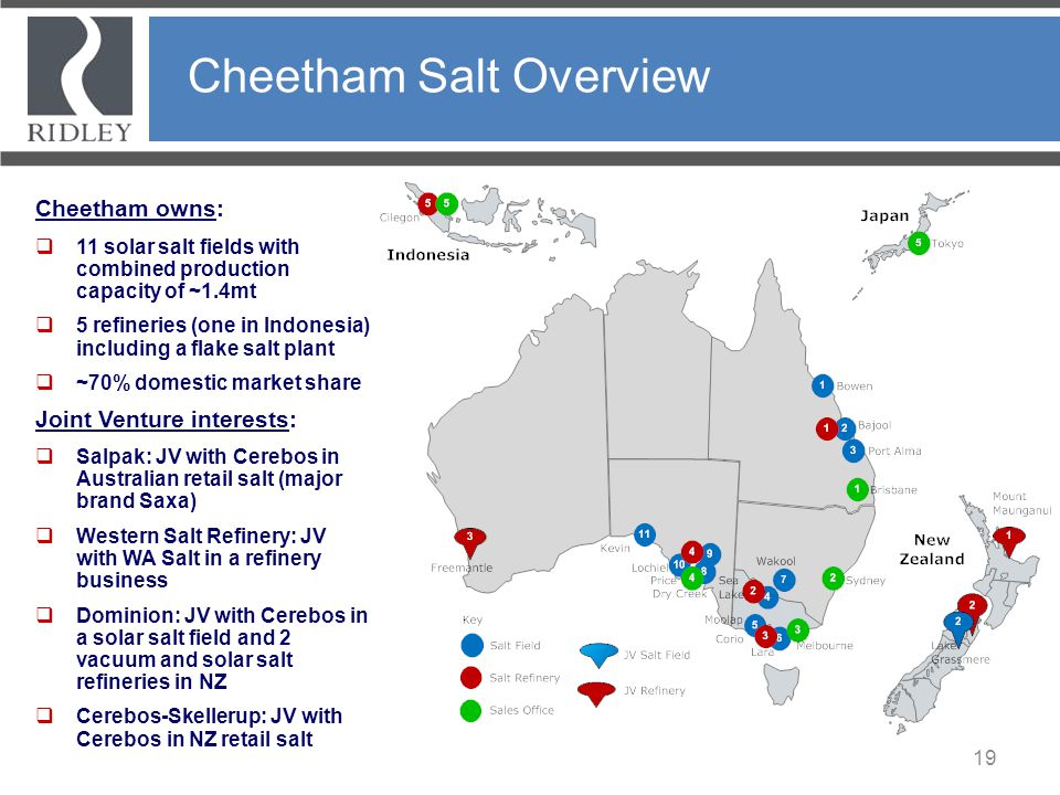 Cheetham Salt Overview