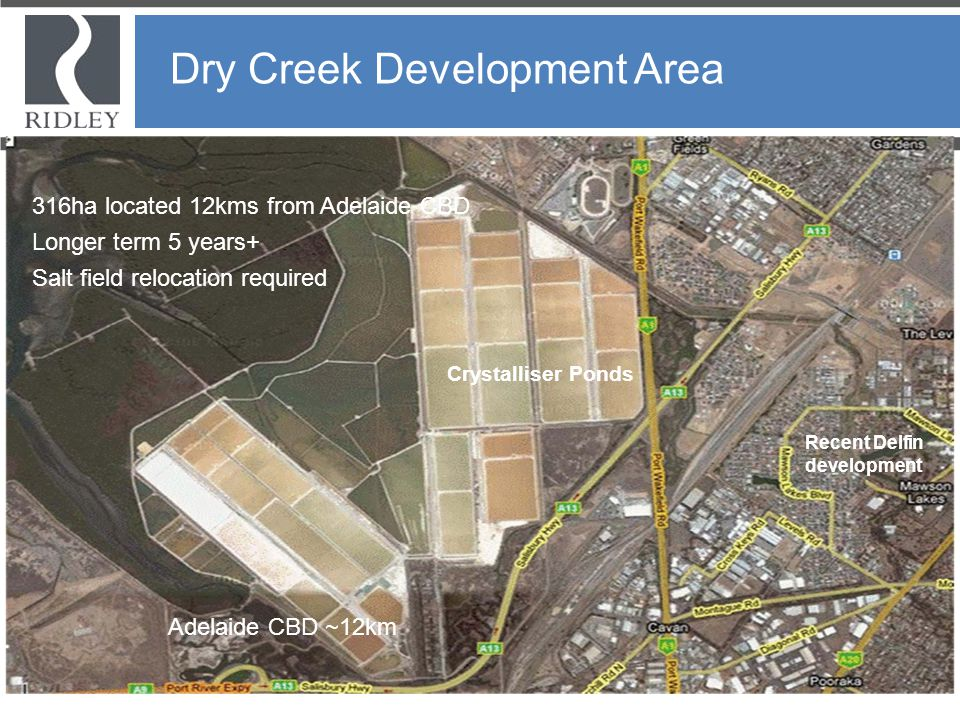 Dry Creek Development Area