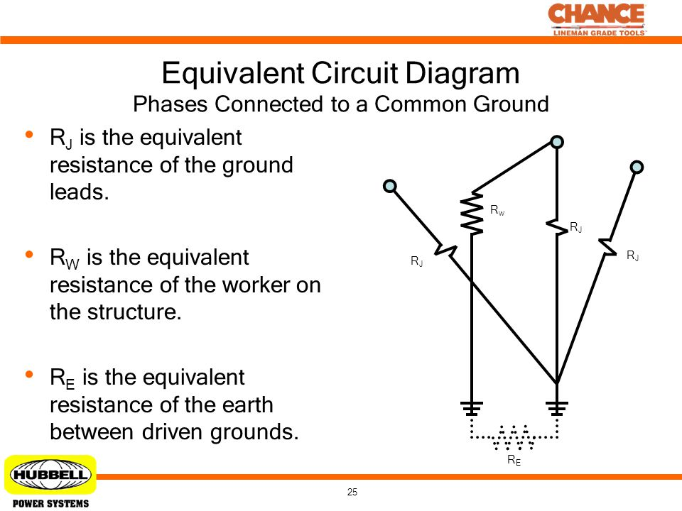 Equivalent Circuit Diagram Phases Connected to a Common Ground