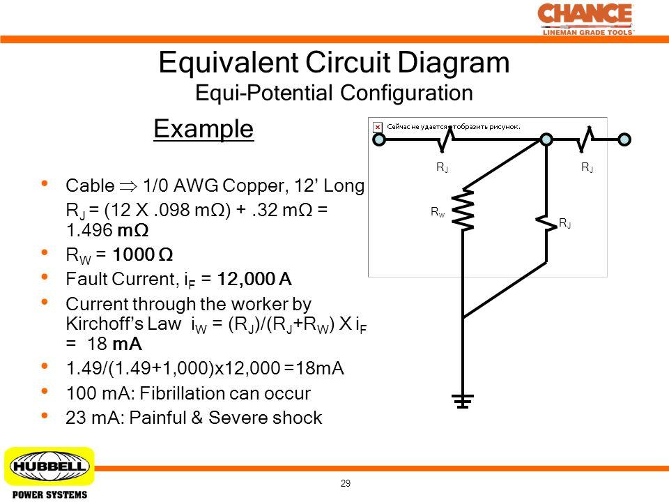 Equivalent Circuit Diagram Equi-Potential Configuration