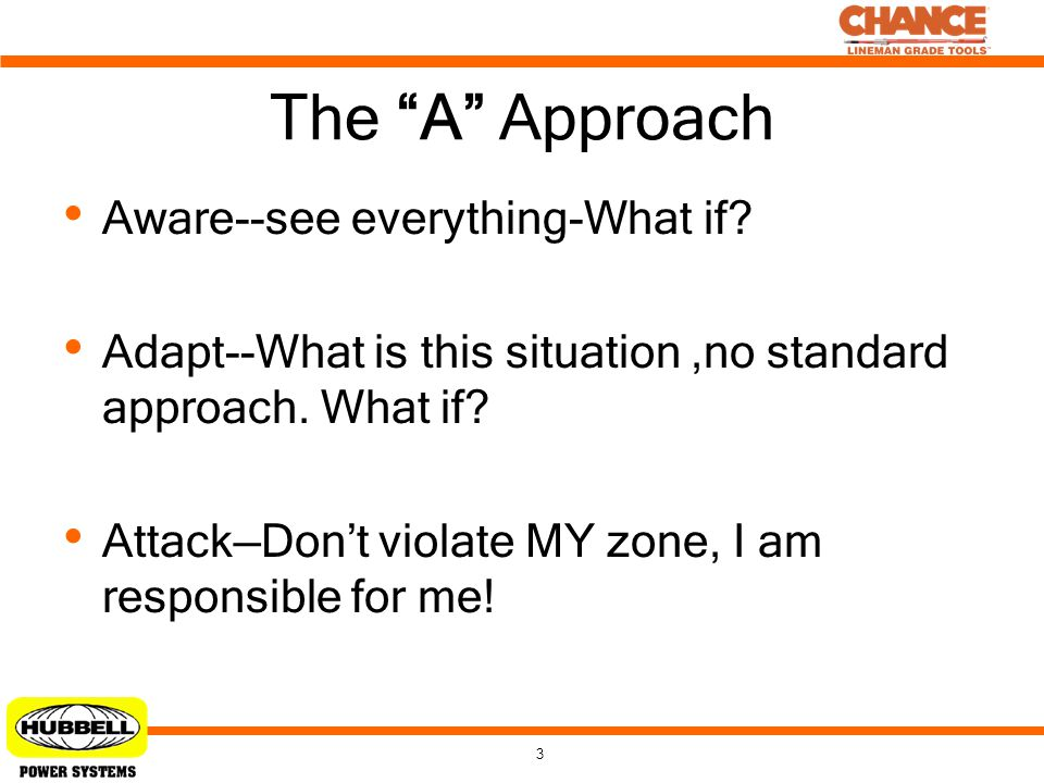 The A Approach Aware--see everything-What if