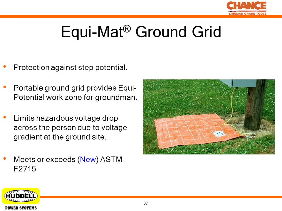 Equi-Mat® Ground Grid Protection against step potential.