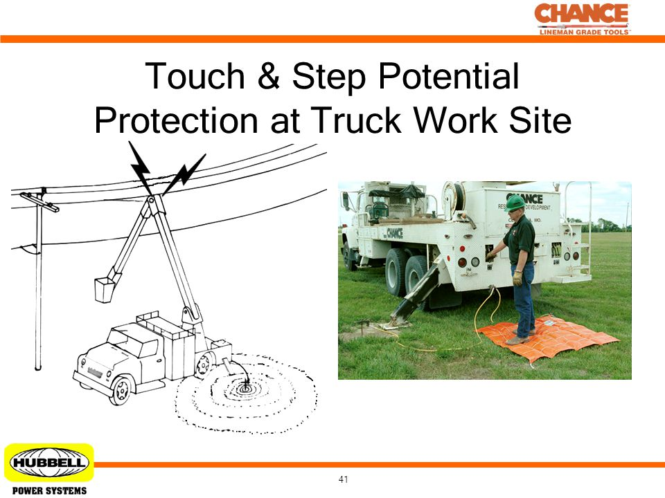 Touch & Step Potential Protection at Truck Work Site