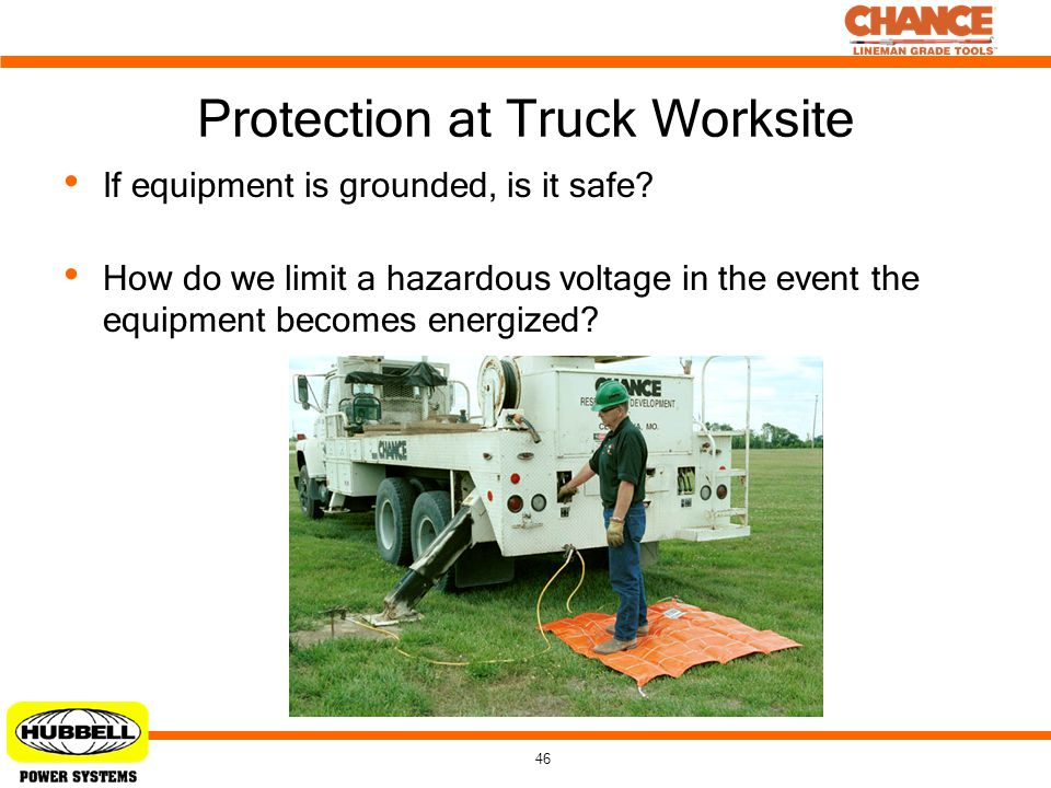 Protection at Truck Worksite