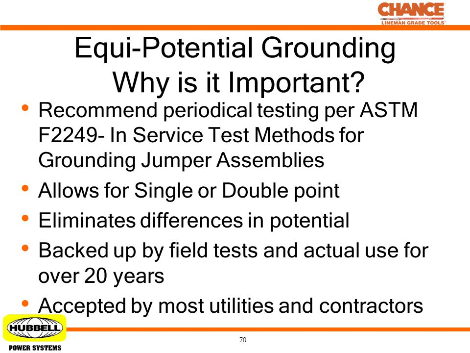 Equi-Potential Grounding Why is it Important
