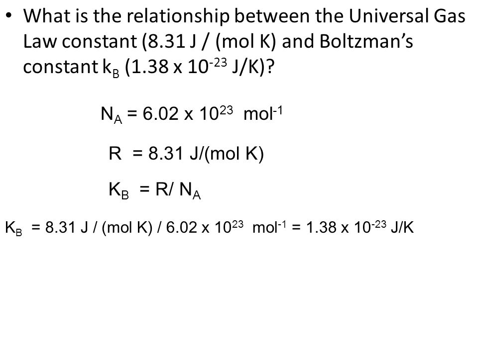 What is the relationship between the Universal Gas Law constant (8