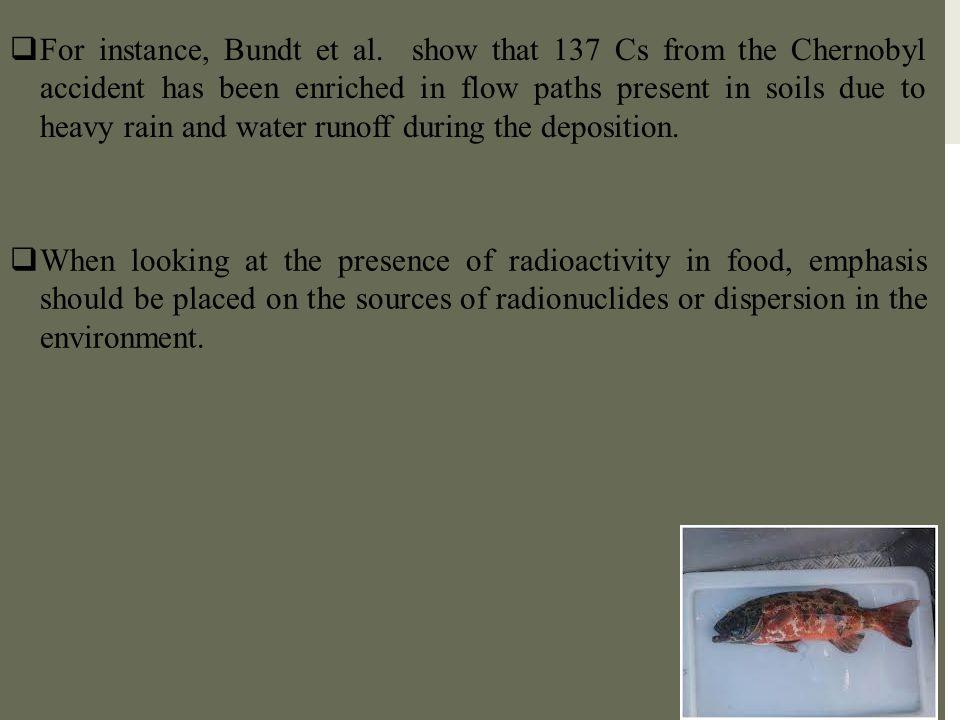 For instance, Bundt et al