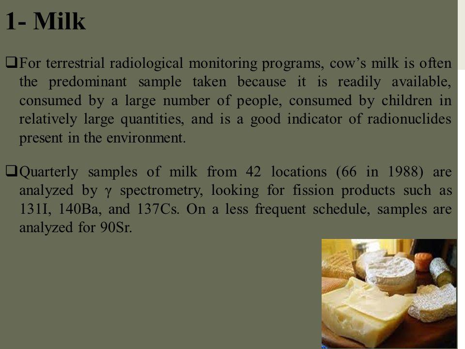 1- Milk