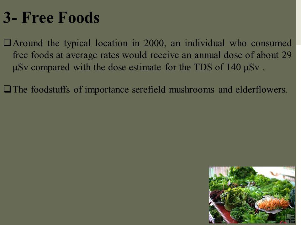 3- Free Foods