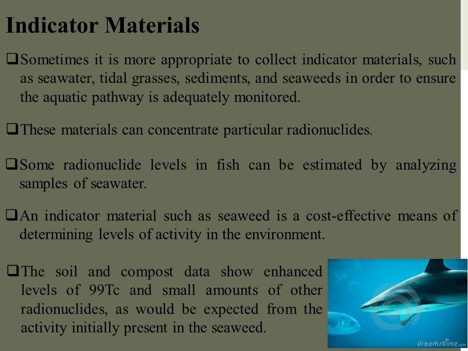 Indicator Materials