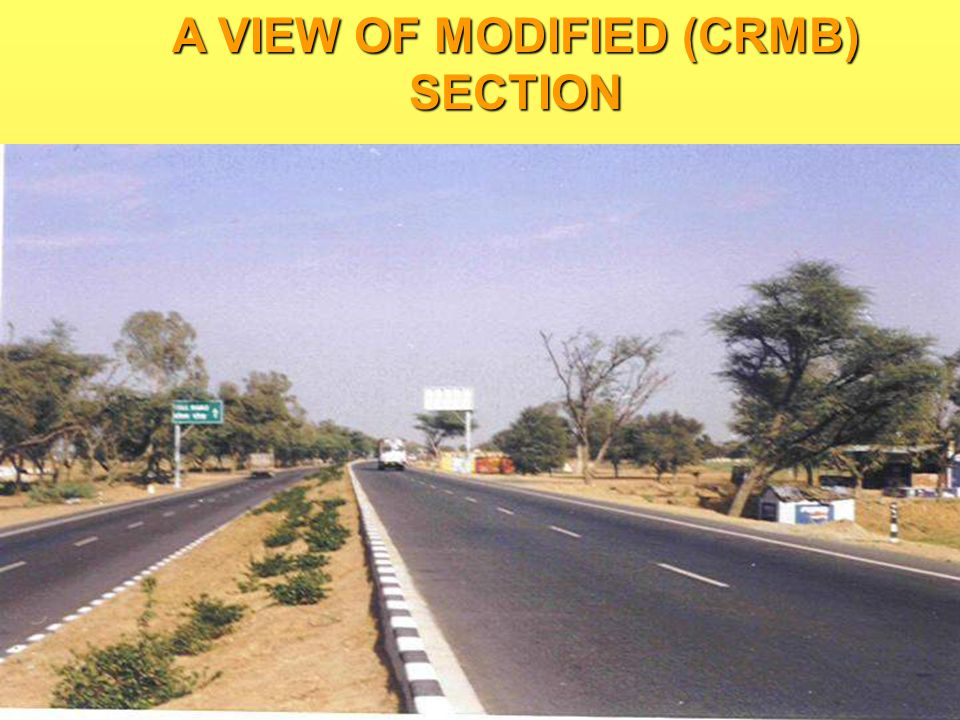 A VIEW OF MODIFIED (CRMB) SECTION