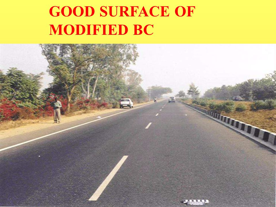 GOOD SURFACE OF MODIFIED BC
