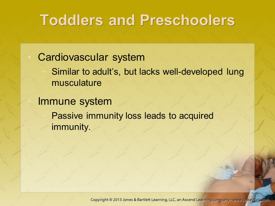 Toddlers and Preschoolers