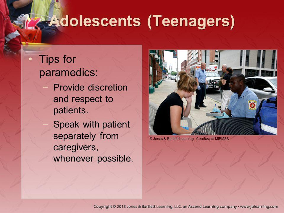 Adolescents (Teenagers)