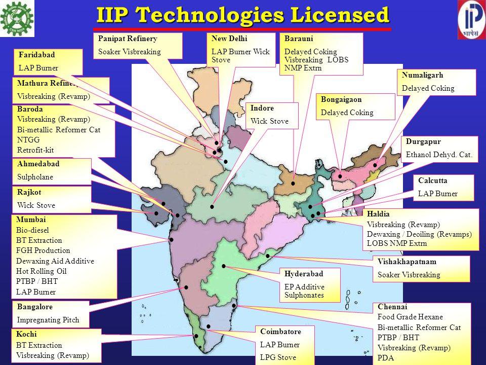 IIP Technologies Licensed