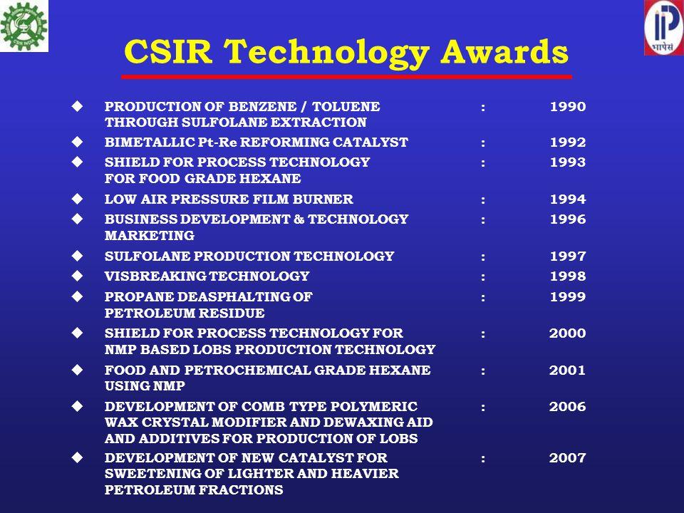 CSIR Technology Awards