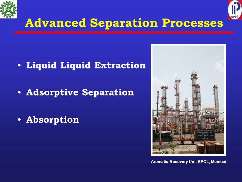 Advanced Separation Processes