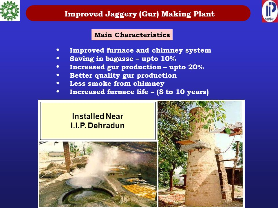 Improved Jaggery (Gur) Making Plant