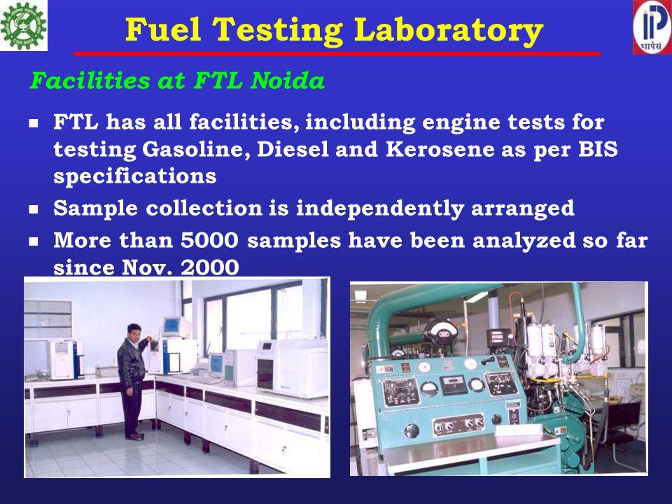 Fuel Testing Laboratory