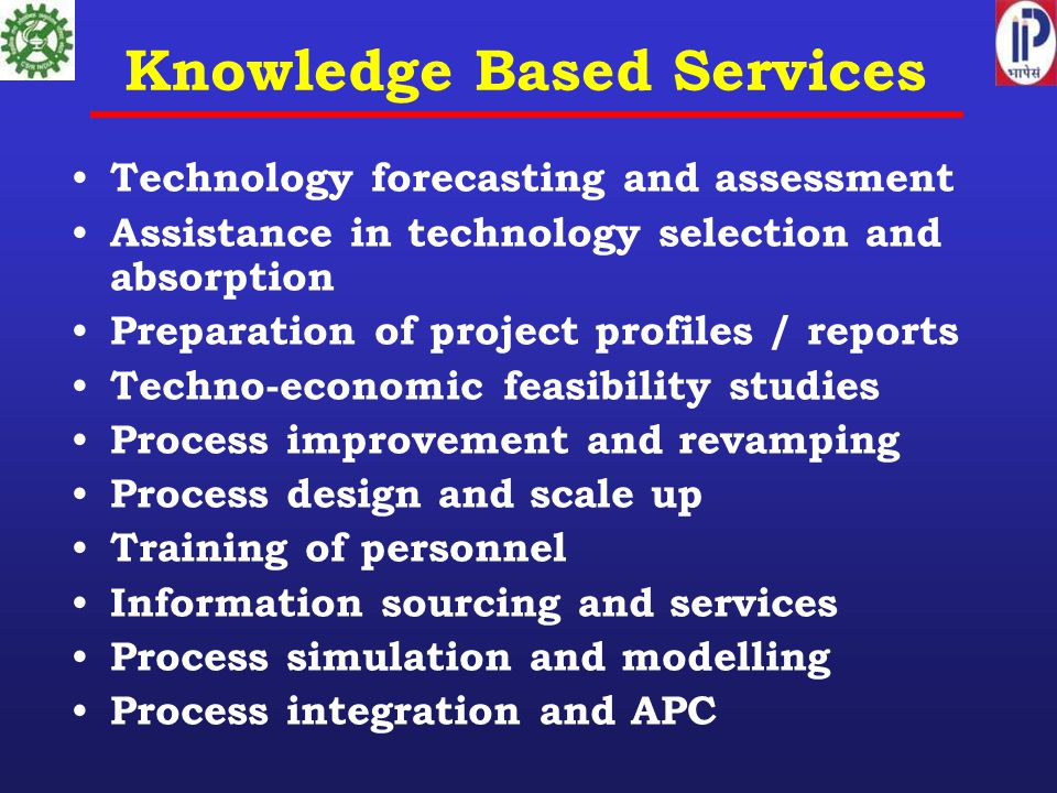 Knowledge Based Services