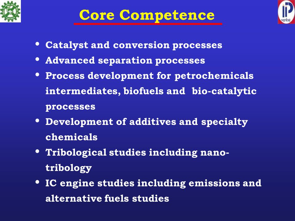 Core Competence Catalyst and conversion processes