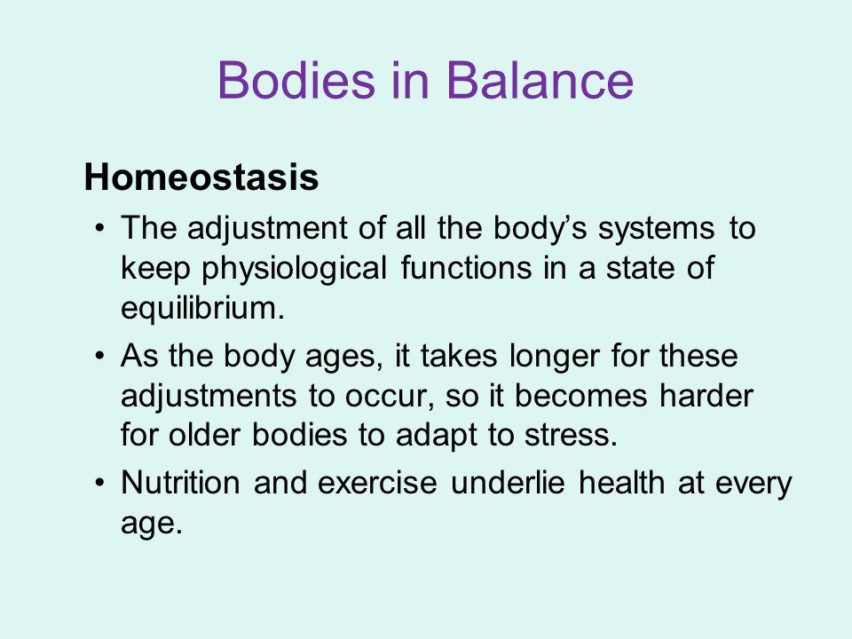 Bodies in Balance Homeostasis
