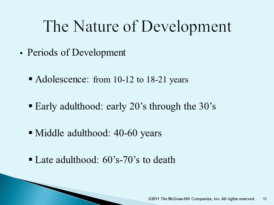 The Nature of Development