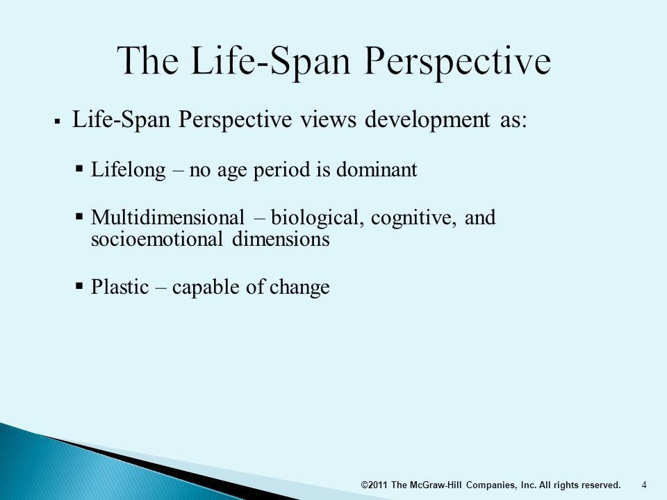 The Life-Span Perspective