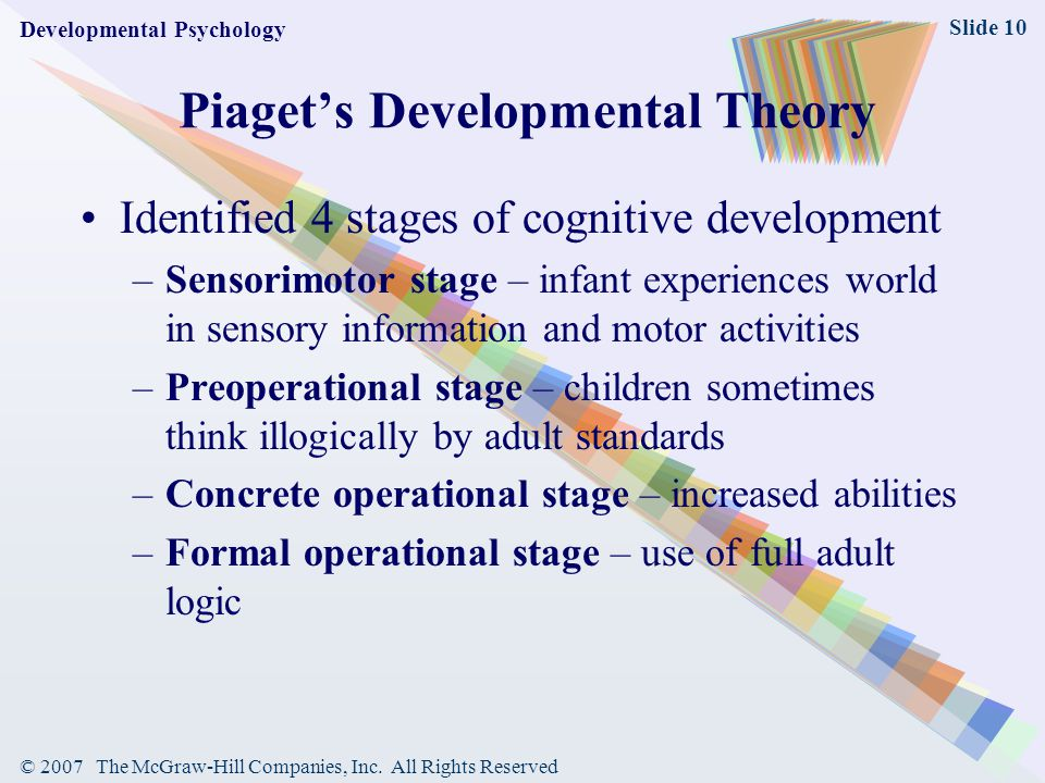 The Preoperational Stage of Cognitive Development