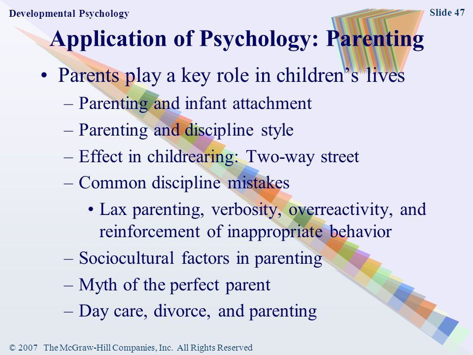 the effects of parenting styles on